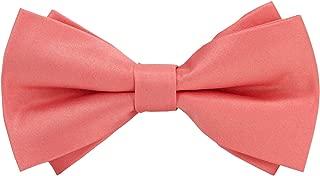 Men's Solid Color Satin Bowtie