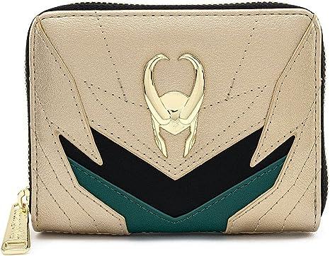 Loungefly Marvel Loki Classic Cosplay Zip Around Wallet