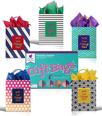 These Adorable Scratch-Off Gift Bags
