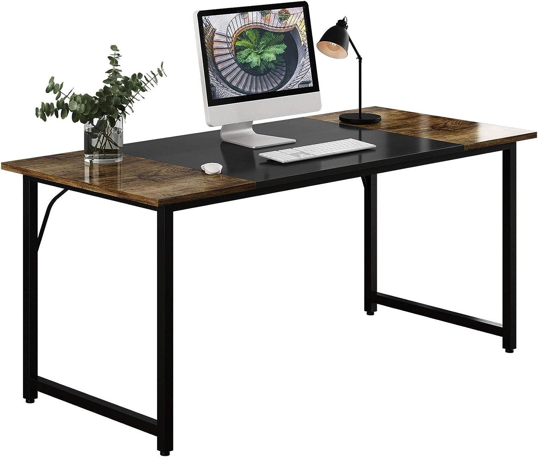 WDT Colorado Special sale item Springs Mall Computer Home Office Writing Black Desk Splice Board