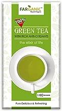 Farganic Pure Green Tea Bag - 110 Tea Bags ( 100 Tea Bags+10 Tea Bags )