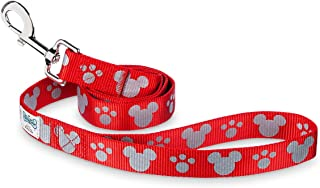 Disney Parks - Tails - Mickey Mouse Reflective Dog Lead - Red - Medium / Large