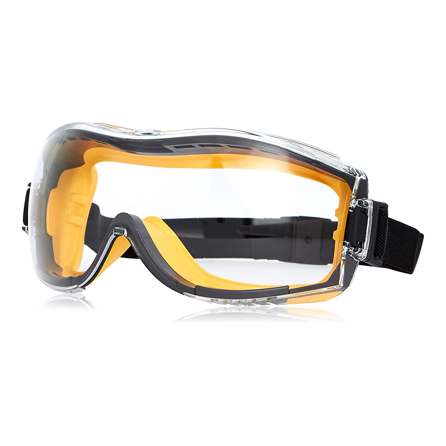 Max 89% OFF Amazon Basics Safety Goggle - Lens Clear Anti-Fog 1QP158A1 Reservation and