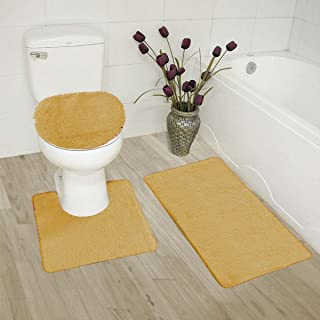 Amazoncom Gold Bath Rugs Bath Home Kitchen