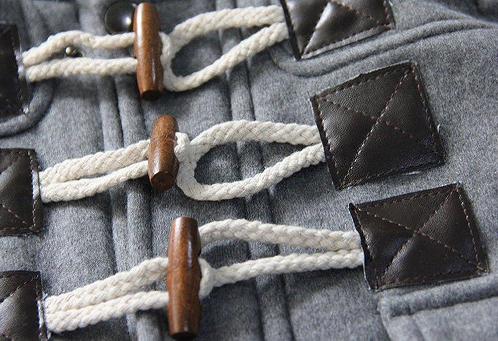 MissChild Abrigo de Capucha Beb/é oto/ño Invierno Chaqueta Ropa Manga Larga Acolchado Outerwear para Ni/ños