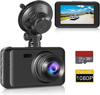 Dash Cam Car Dashboard Camera, Full HD 1080P 3