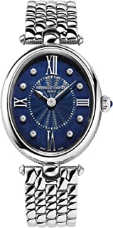 Frederique Constant Classics Art Deco Quartz Blue Dial Ladies Watch FC-200RMPN2V6B