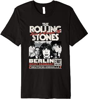 Mens The Rolling Stones Berlin 76 T-Shirt