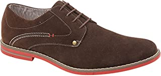 Route 21 Mens 4 Eye Synthetic Suede Gibson Shoes