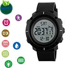 Digital Watch Sports Watch LED Screen Large Face Watches