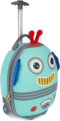 Boppi Tiny Trekker Valise de Voyage Bagage Cabine Valise à roulettes légère Bagage à Main à roulettes de 17 litres - ...