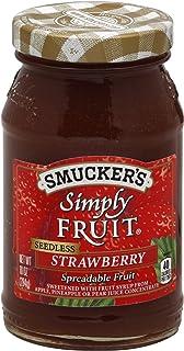 Smucker's Seedless Fruit Spread, Strawberry, 10 oz