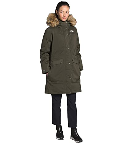 The North Face New Defdown Futurelight Jacket (New Taupe Green) Women