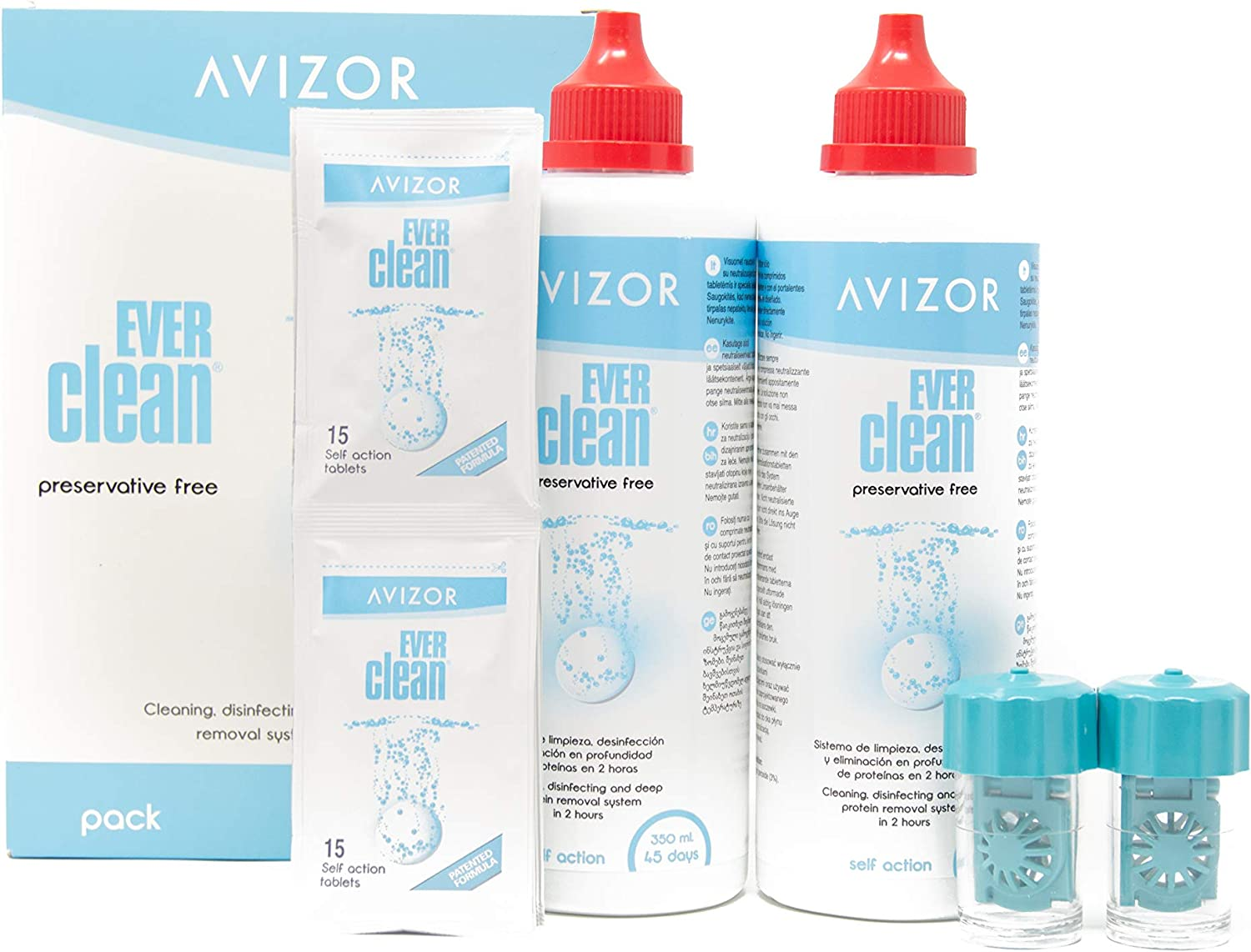 NEW before selling ☆ Recommendation Avizor Ever Clean Without Preservative an Cleaning Disinfecting