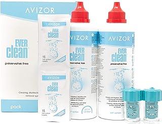 Líquido de lentillas AVIZOR EVER CLEAN 2 x 350 ml. Solució