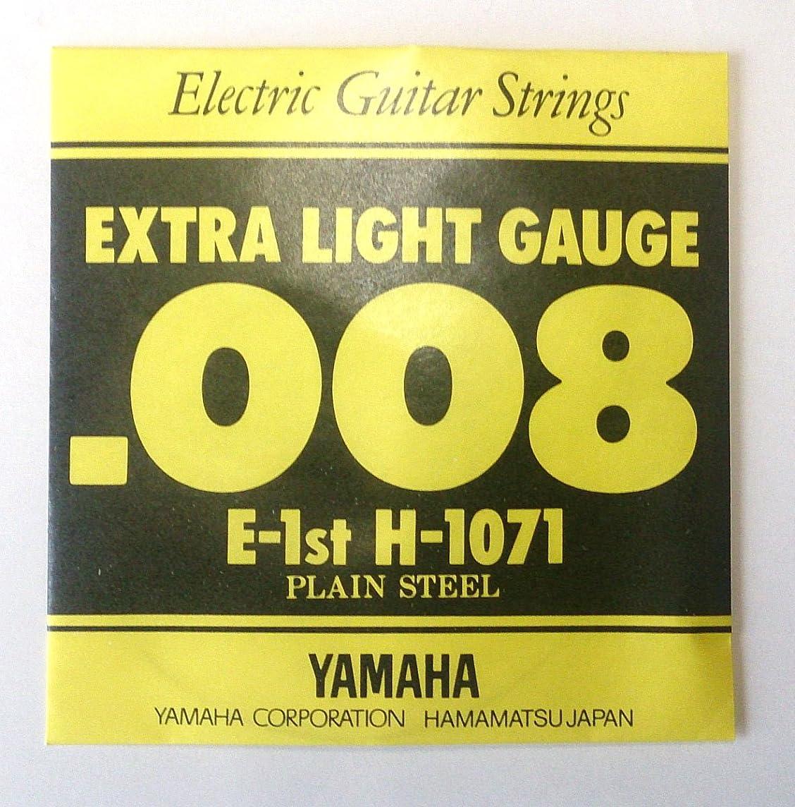 裕福なかご師匠YAMAHA H1071 エレキギター用 バラ弦 1弦