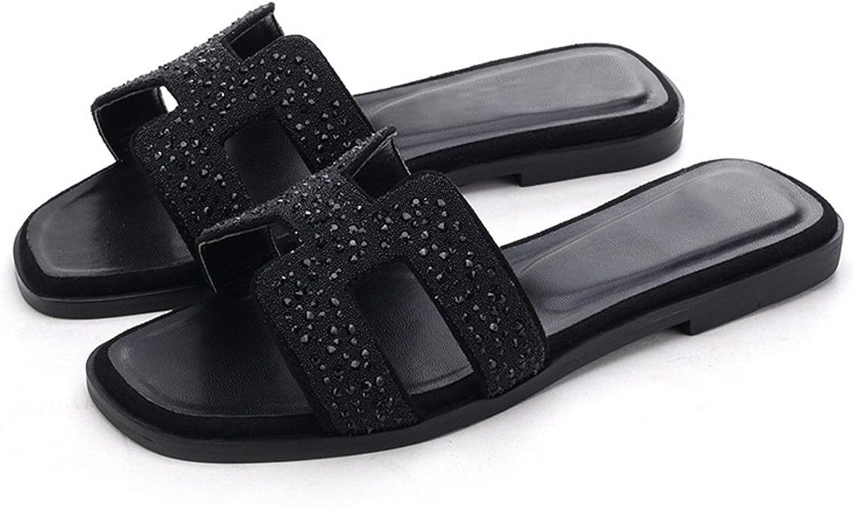 Nerefy Slide Sandals Women Luxury Slipper Genuine Cow Really Leather shoes Flats Slippers Women Fashion