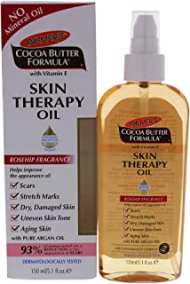 Palmer's Cocoa Butter Formula Skin Therapy Moisturizing Body Oil with Vitamin E, Rosehip Fragrance   5.1 Ounces