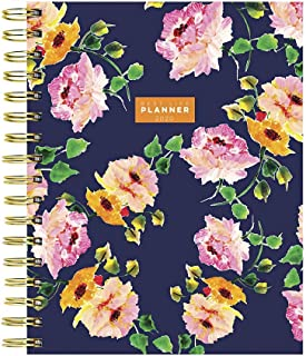 2020 Posey Petals Floral Best Life Daily Weekly Monthly Luxe Hard Planner