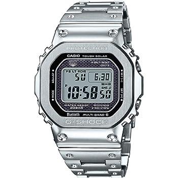 Casio G - Shock gmw-b5000d-1接続Tough SolarステンレススチールWatch gmwb5000d-1gmw-b5000d-1cr
