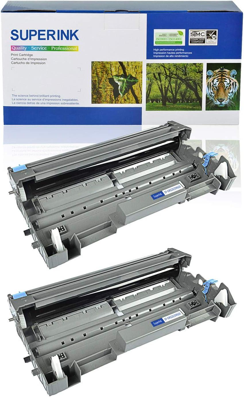 USUPERINK 2 Pack High Yield Compatible Drum Unit Replacement for Brother DR520 DR-520 Black use in HL-5200 HL-5240 HL-5250 HL-5280 MFC-8460N MFC-8660DN MFC-8860N DCP-8060 DCP-8065 Printer