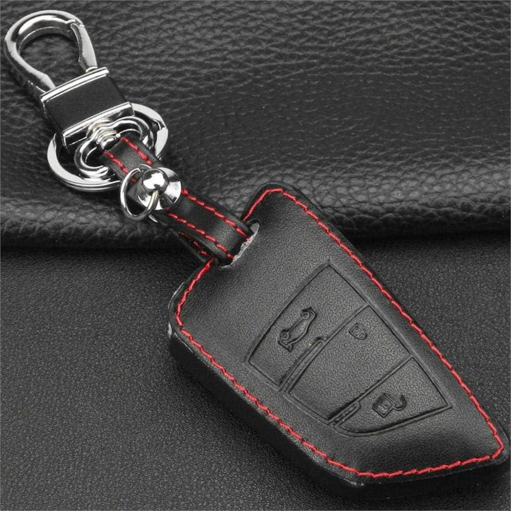Fashion LYSHUI 3 Buttons Car Leather Control Keychain Sale SALE% OFF Cov Remote Key