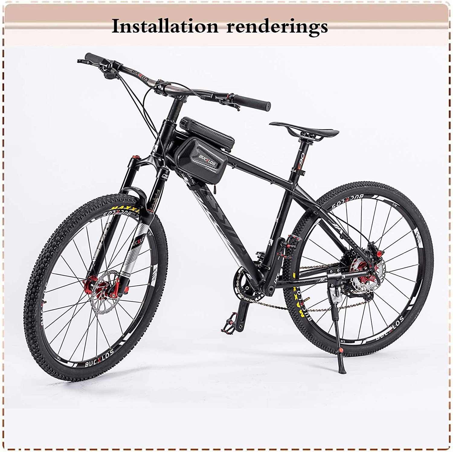 BUCKLOS 26//27.5//29 Travel 120mm MTB Air Suspension Fork Rebound Adjust 1 1//8 Straight//Tapered Tube QR 9mm Manual//Remote Lockout XC AM Ultralight Mountain Bike Front Forks