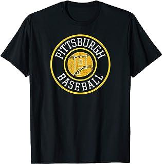 Pittsburgh Baseball | Burgh Pride Pirate Badge Gift T-Shirt