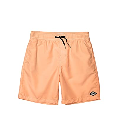 Billabong Kids All Day Layback Boardshorts (Big Kids) (Neo Orange) Boy