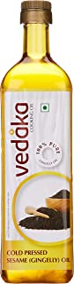 Vedaka Cold Pressed Sesame (Gingelly) Oil, 1 L