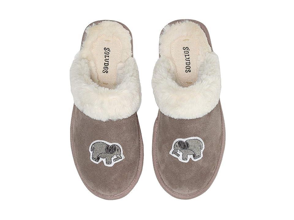 Soludos Elephant Cozy Slipper (Mineral Grey) Women
