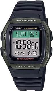 Casio Men's Digital Quartz Watch with Resin Strap W-96H-3AVEF