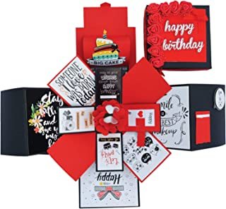 DecuT Multi Layered Handmade Explosion Box for Birthday Gift Box