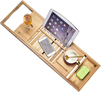 Sen Yi Bao Luxury Bamboo Bathtub Tray