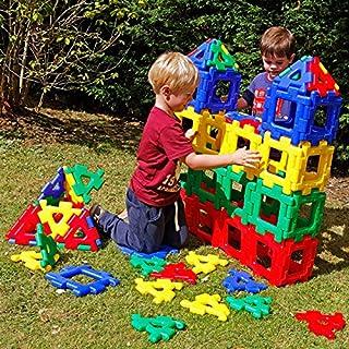 Polydron Kids Giant Class Set - Educational Construction Toy - Multicolored - Children Creative Geometry Building 3D Kit -...