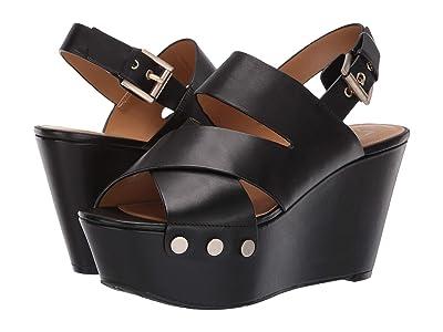 Marc Fisher LTD Bianka (Black Leather) Women