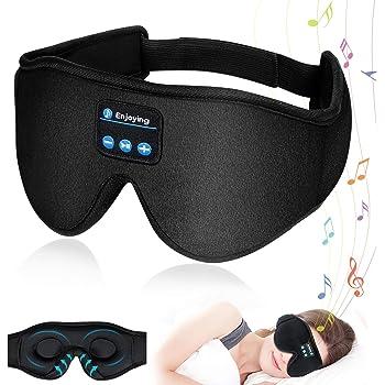 アイマスク 安眠 Bluetooth5.0 音楽機能 3D立体型 アイマスク 遮光 睡眠 極上の肌触り 目隠し 圧迫感なし 軽量 旅行 昼寝 疲労回復 失眠対策 快眠グッズ 日語説明書 ギフトケース包装 父の日ギフト