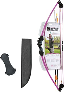 youth recurve bow pink