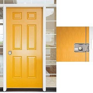 Elektronisch deurslot, slim deurslot, met - deuralarm ID-kaart Smart Access-systeem Dubbele kop voor huizen, magazijnen
