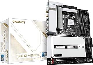 Gigabyte W480 Vision D (LGA 1200/Intel W480/ATX/Triple M.2/SATA 6Gb/s/USB 3.2 Gen 2/WiFi 6/Thunderbolt 3/ Multi-GPU Suppor...