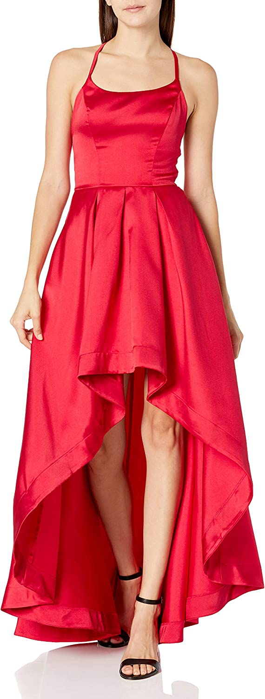 Speechless Women's Sleeveless High-Low Party Dress