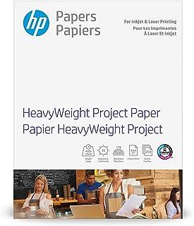 HP Heavyweight Project Paper | Matte Inkjet & Laser | 8.5x11 | 250 Sheets