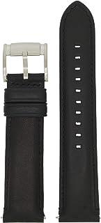 Fossil LB-FS4812 - Cinturino di ricambio in pelle, 22 mm, colore: Nero