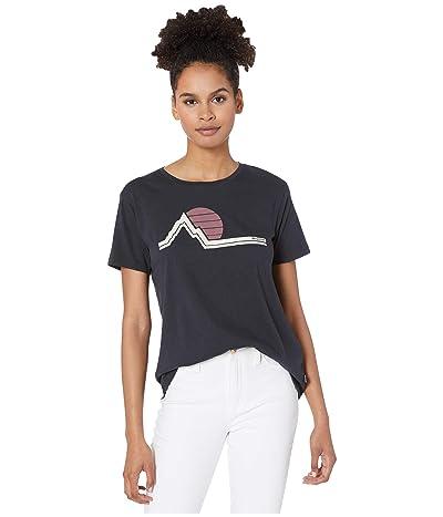 Burton Classic Retro Short Sleeve T-Shirt (True Black) Women