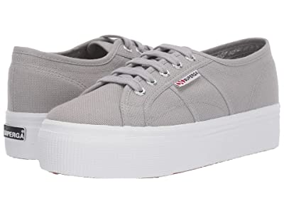 Superga 2790 Acotw Platform Sneaker (Light Grey) Women