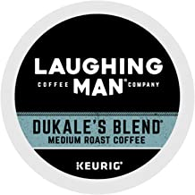 Laughing Man Dukale's Blend, Single-Serve Keurig K-Cup Pods, Medium Roast Coffee, 60 Count