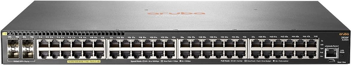 HP JL256A#ABB E Aruba 2930F 48G PoE+ 4SFP+ Switch