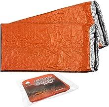 2 Premium Saco de Dormir de Emergencia - Sacos de Vivac,
