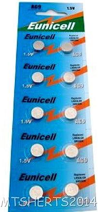Lot de 10 piles bouton alcalines AG9 G9 LR45 LR936 LR936SW SR936 SR936W SR936SW 394 type