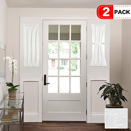 Front Door Window Curtains Amazoncom